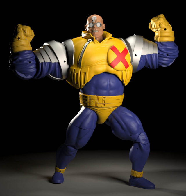 Marvel Legends Strong Guy Build-A-Figure SDCC 2019