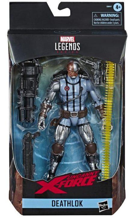 Marvel Legends X-Force Deathlok Figure Packaged