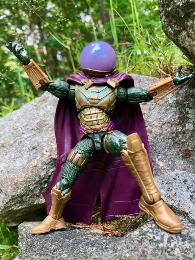 Marvel Studios Legends Mysterio Spider-Man Far From Home Six Inch Figure