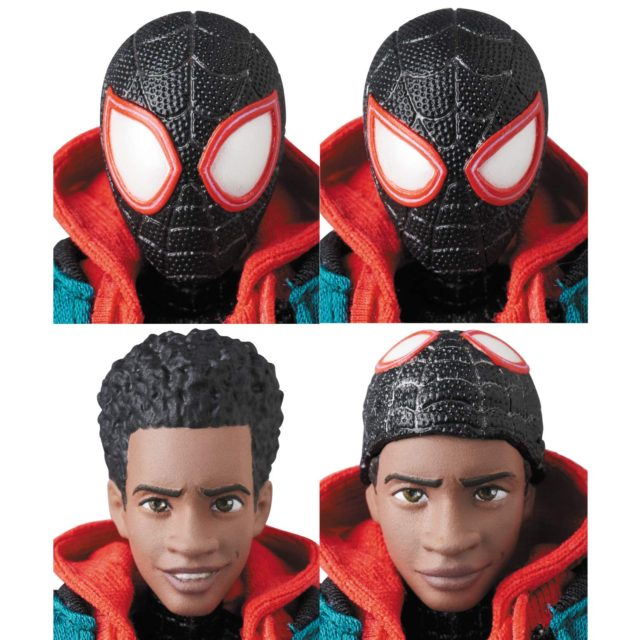 Miles Morales Heads MAFEX Spider-Man Into The Spider-Verse