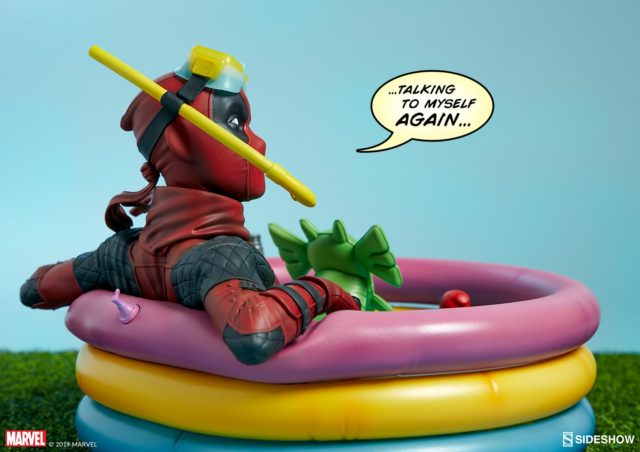 Side View of Kidpool Sideshow Collectibles Premium Format Figure
