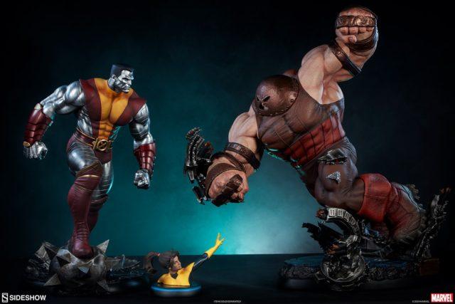 Sideshow Colossus Kitty Pryde Juggernaut Premium Format Figure Statues