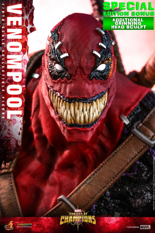 Sideshow Exclusive Venompool Grinning Head