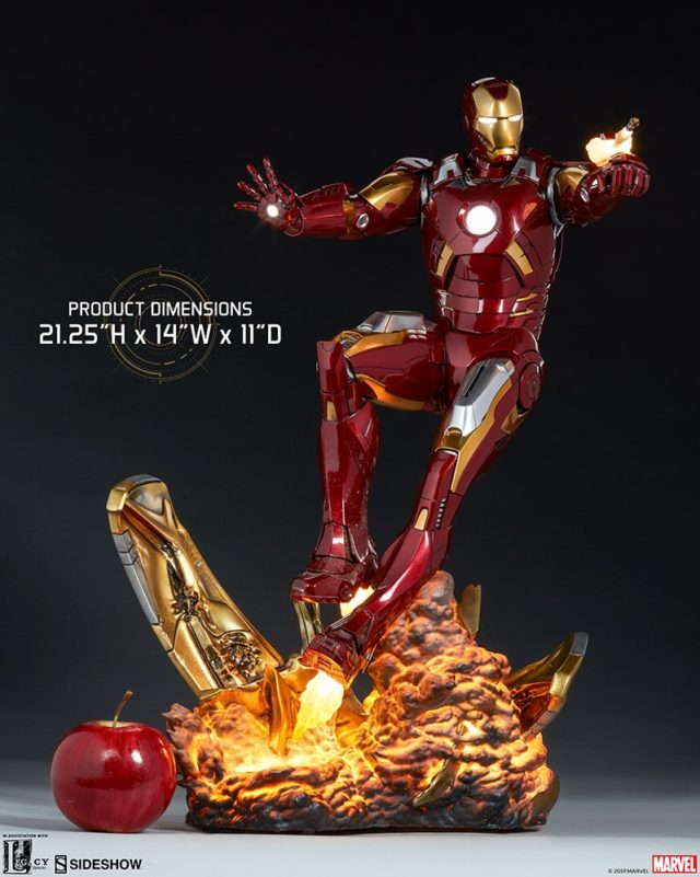Sideshow Iron Man Mark VII Maquette Size Scale Photo