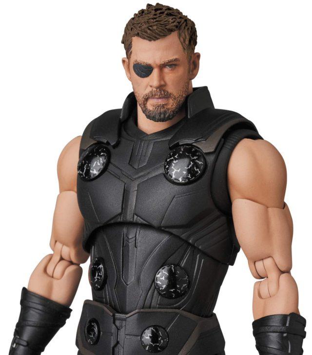 Sleeveless Thor Infinity War MAFEX Medico 6 Inch Figure