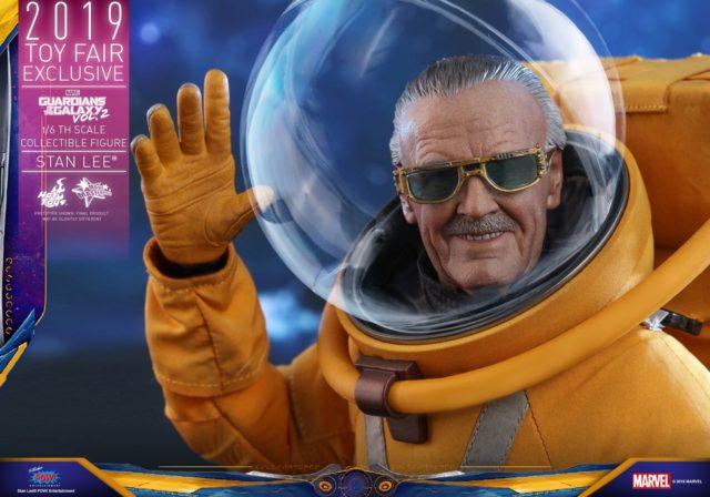 Stan Lee Hot Toys Figure Waving GOTG Vol 2 Cameo