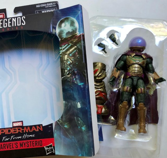 Unboxing Marvel Legends Mysterio Far From Home Movie Figure