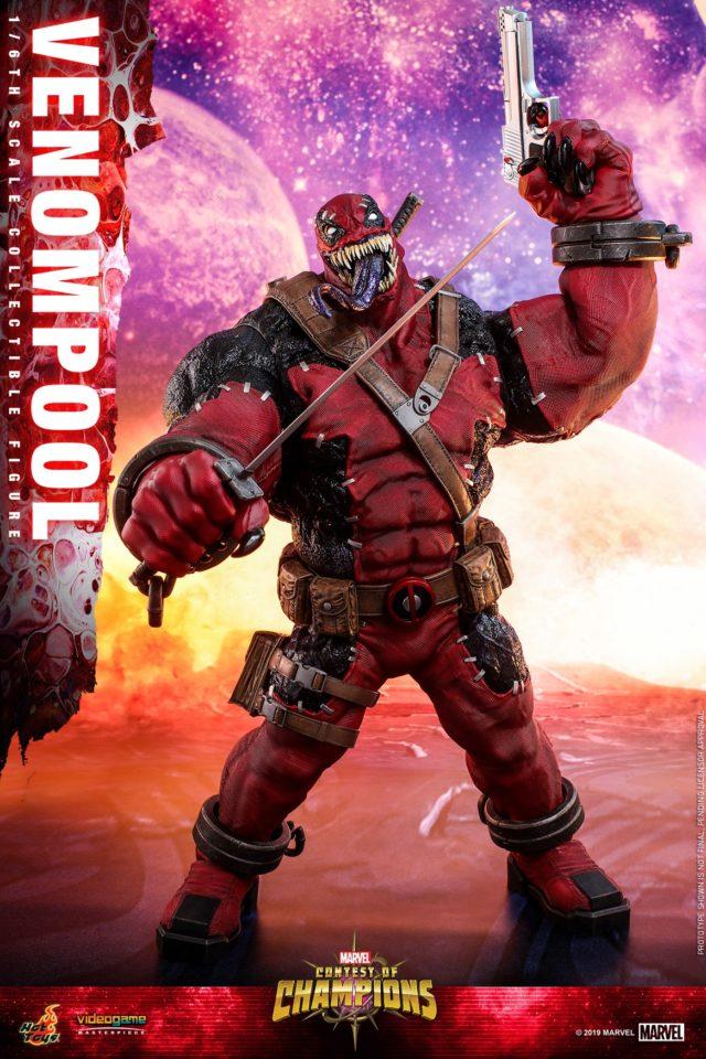 Venompool Sixth Scale Figure Hot Toys SDCC 2019