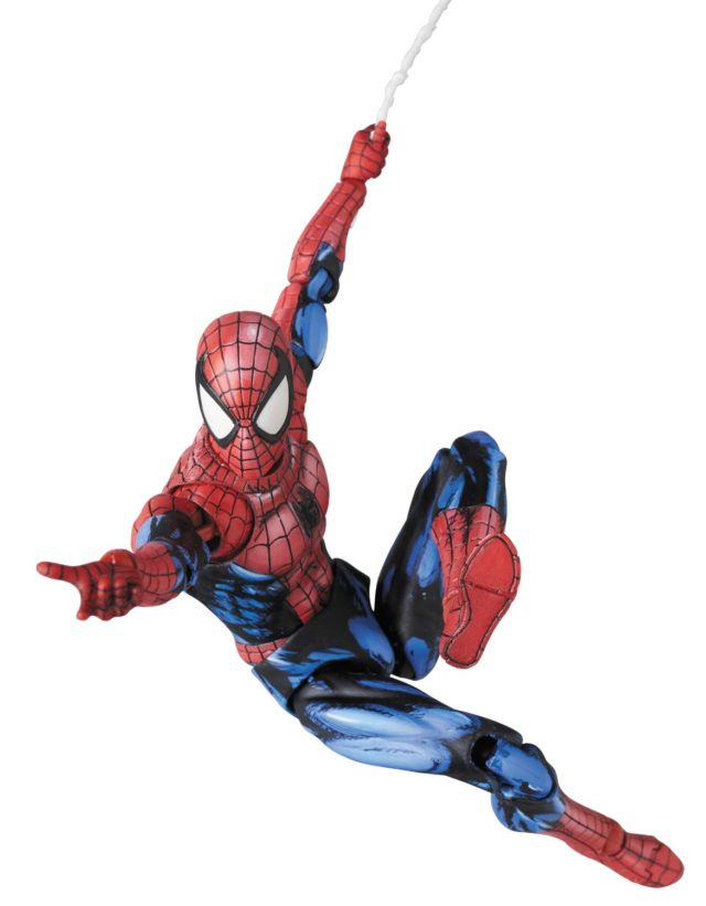 Web Swinging Spider-Man MAFEX Comic Paint Ver Action Figure