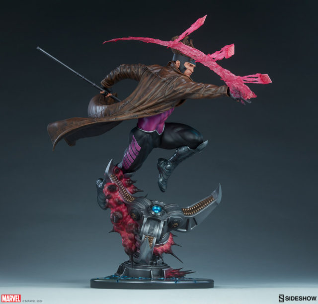 Danger Room Claw on Sideshow Gambit Statue Base