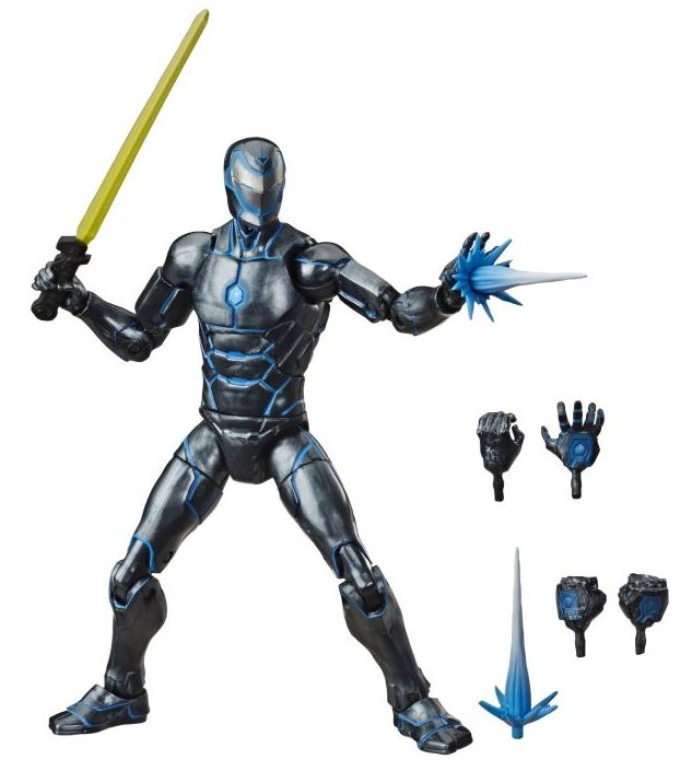 Hasbro Stealth Invincible Iron Man Marvel Legends Figure and Accessories