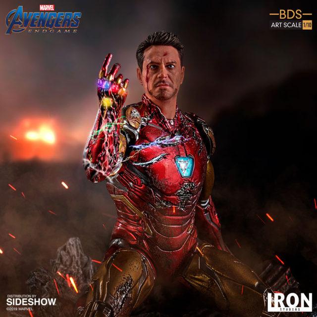 Iron Studios Avengers Endgame I Am Iron Man BDS Statue