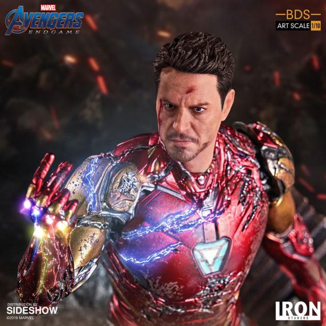Iron Studios I Am Iron Man Statue Robert Downey Jr. Likeness