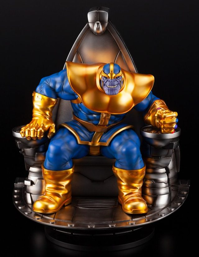 Kotobukiya Thanos on Throne Fine Art Statue