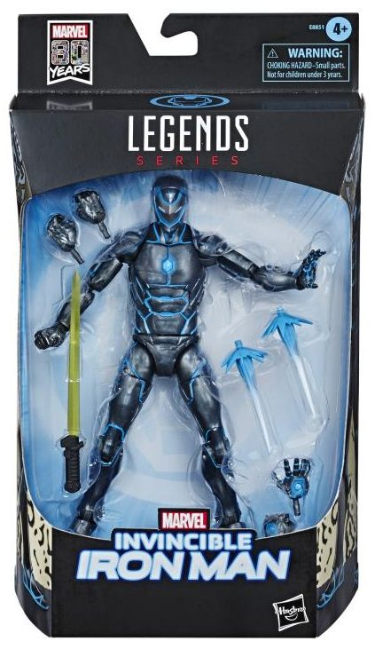 Marvel Legends 80th Anniversary Stealth Invincible Iron Man Packaged