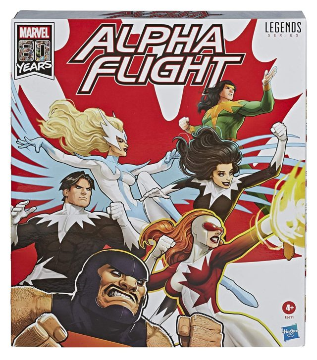 Marvel Legends Alpha Flight Exclusive Box Set Cover