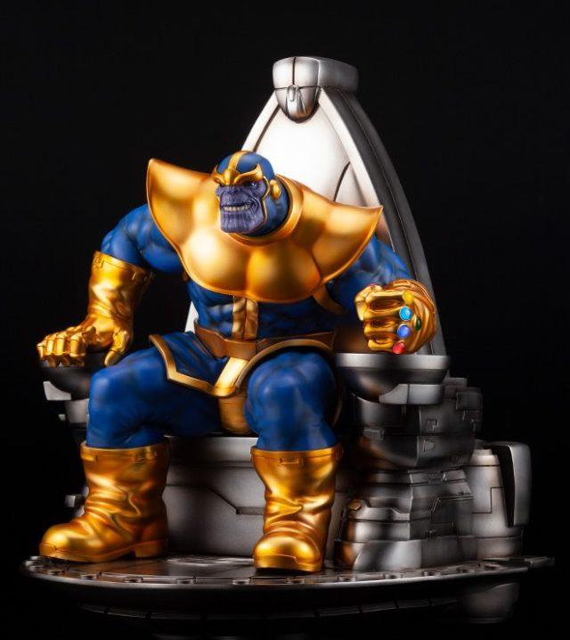 Thanos on Throne Kotobukiya Sixth Scale Statue