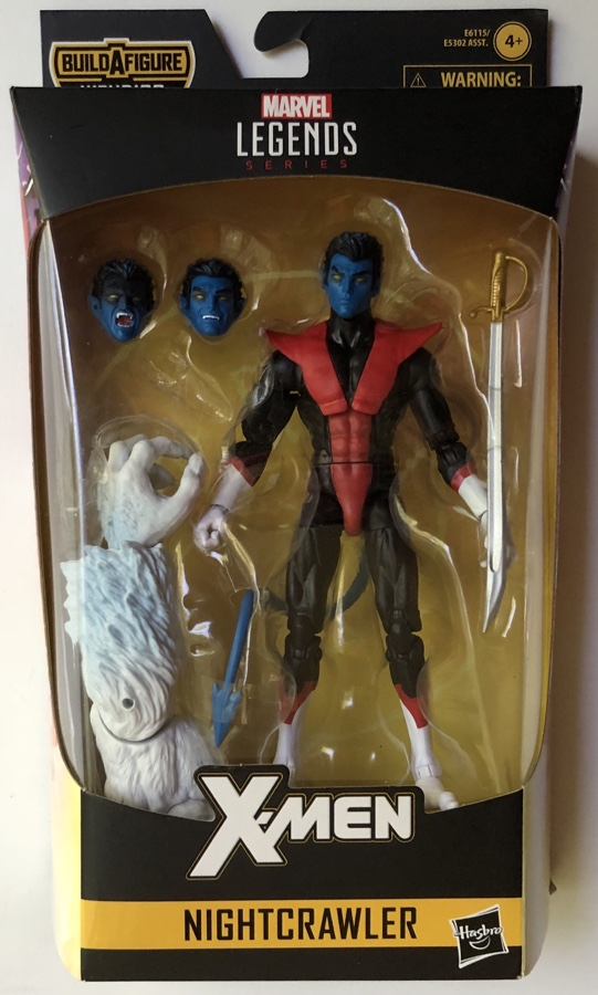 X-Force Legends Nightcrawler Packaged