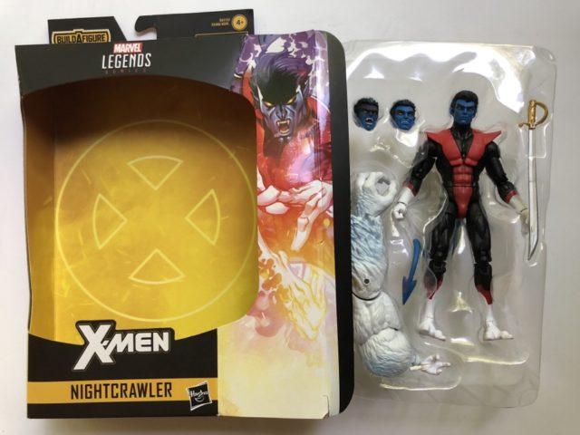 Hasbro Marvel Legends X-Force Nightcrawler Figure Unboxing