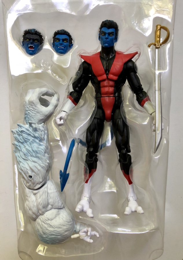 Nightcrawler X-Force Legends Figure Accessories Wendigo BAF Arm