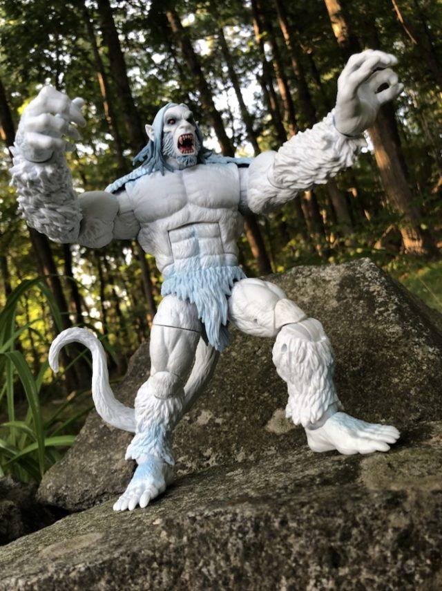 Review X-Force Legends Wendigo Figure Hasbro