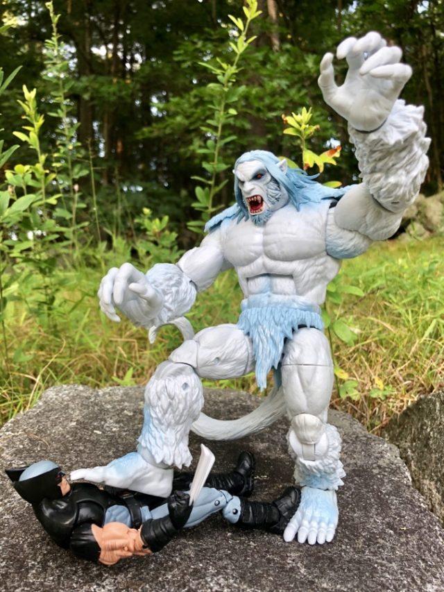 Wendigo Marvel Legends Figure Crushes X-Force Wolverine