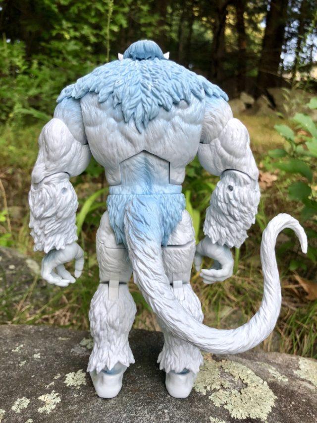 Back of Marvel Legends 2019 Wendigo Build A Figure