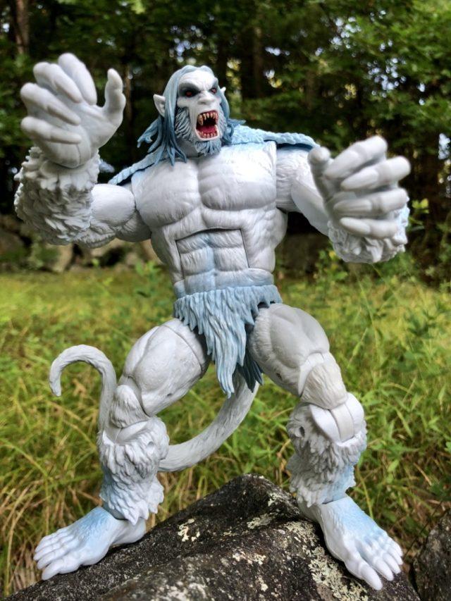Wendigo Marvel Legends BAF Review X-Force Series