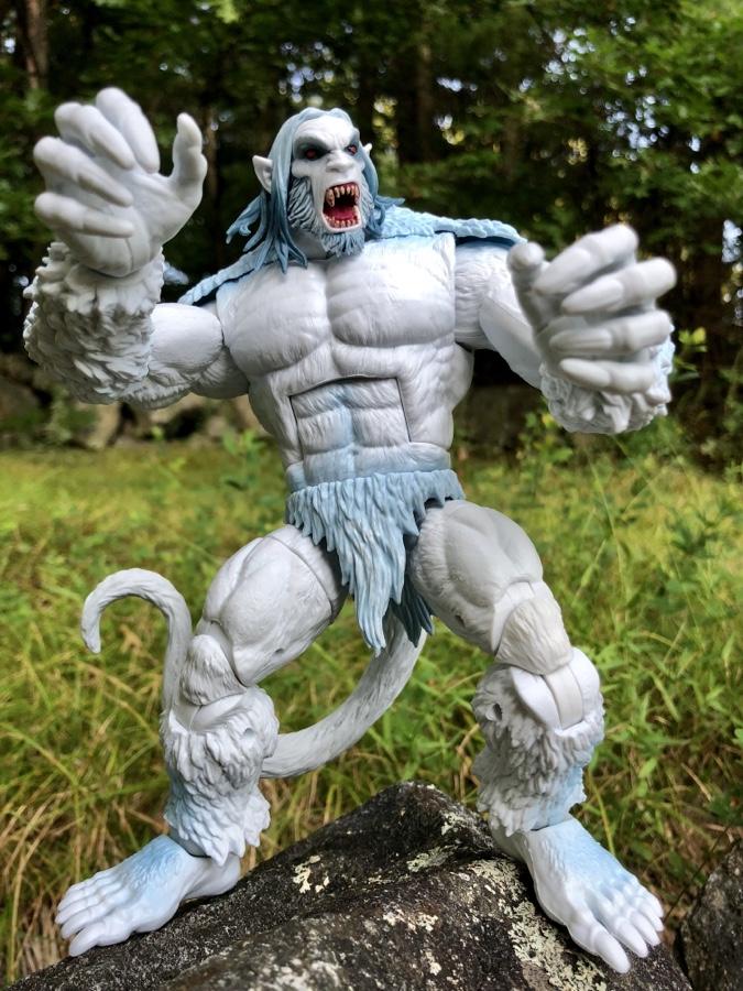 Wendigo BAF Marvel Legends X-Force Guardian Figure