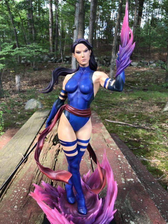 Psylocke Premium Format Figure Sideshow Exclusive X-Men