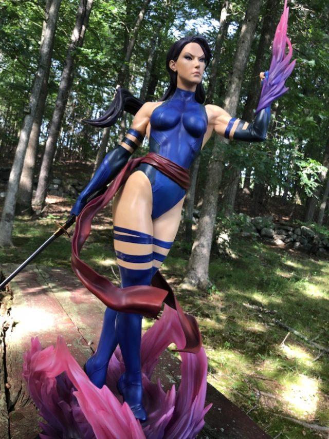 Sideshow Psylocke Premium Format Statue Review
