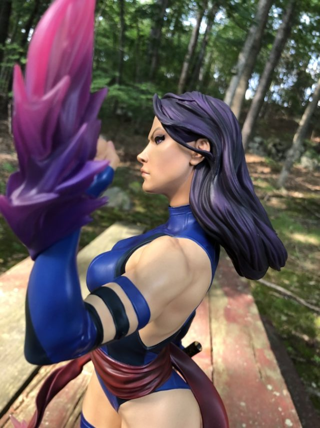 Sideshow Collectibles Psylocke EX Statue Review Psyblade