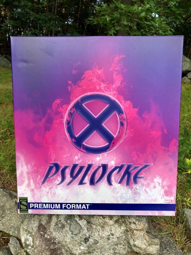Sideshow Psylocke Box Front
