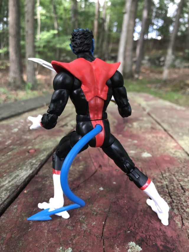 Nightcrawler Tail on 2019 Hasbro Marvel Legends X-Force Wendigo Series Figure