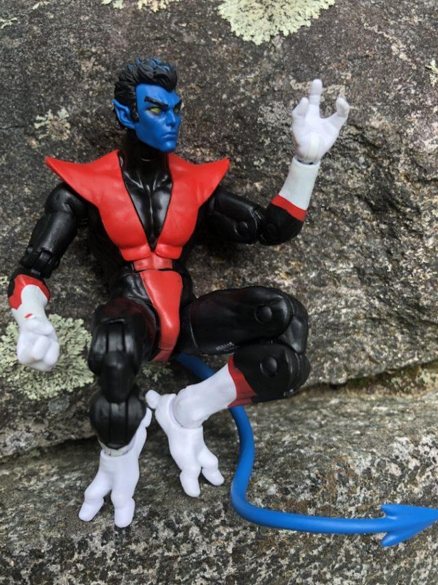 Crouching Nightcrawler Hasbro Marvel Legends Action Figure