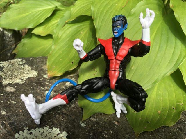 Hasbro Nightcrawler X-Force Legends Figure Jump Attacking