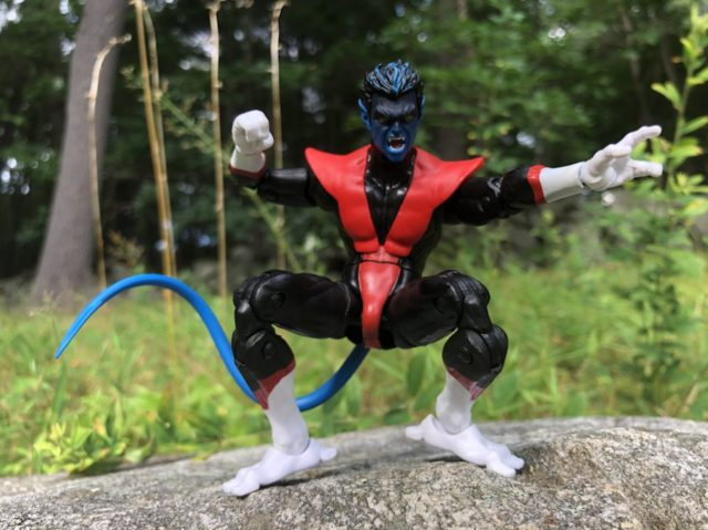 X-Force Legends Nightcrawler Figure with Angry Face