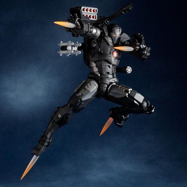 Amazing Yamaguchi War Machine Revoltech Figure Flying Effects Pieces