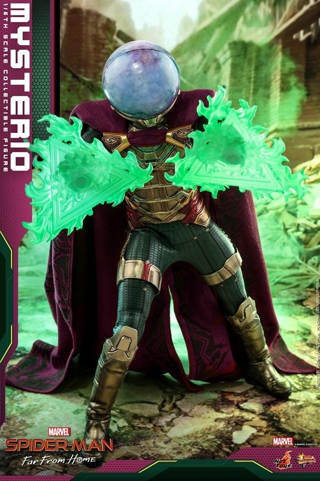 How Much Is A Paint Job >> Hot Toys Mysterio Figure Up for Order & Hi-Res Photos ...