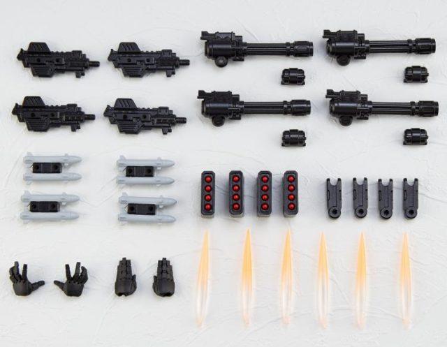 Kaiyodo Revoltech War Machine Accessories