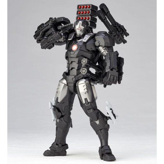 Revoltech War Machine Action Figure Saluting