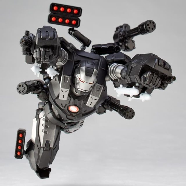 War Machine Action Figure Import Kaiyodo Revoltech 2020