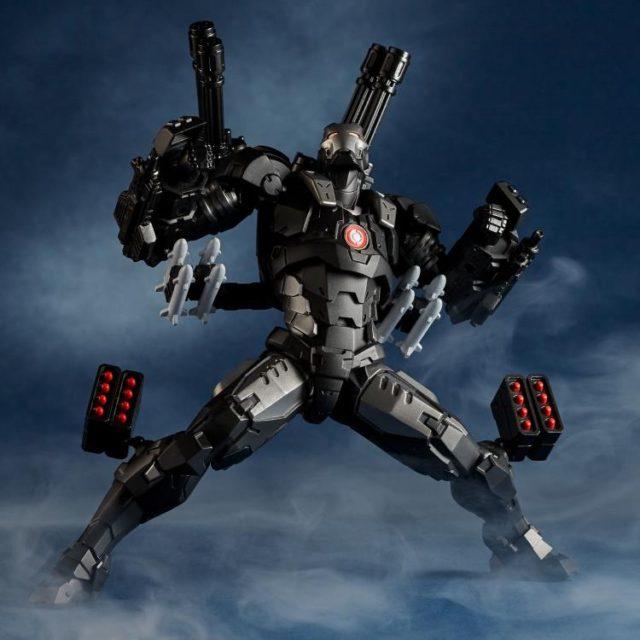 War Machine Revoltech Figures with Missiles