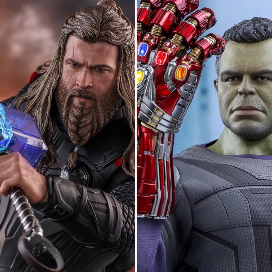 Hot Toys Endgame Thor Hulk 1 6 Figures Photos Order Info