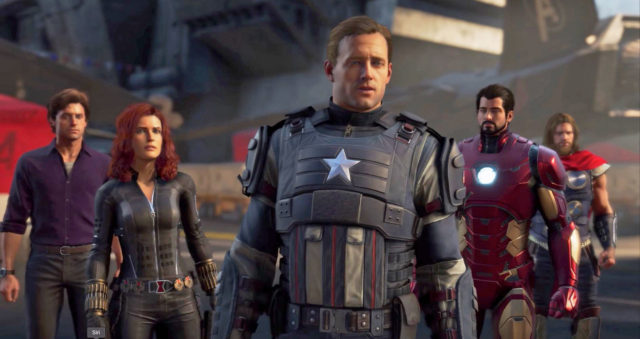 Avengers Square Enix Video Game Team Roster Screenshot