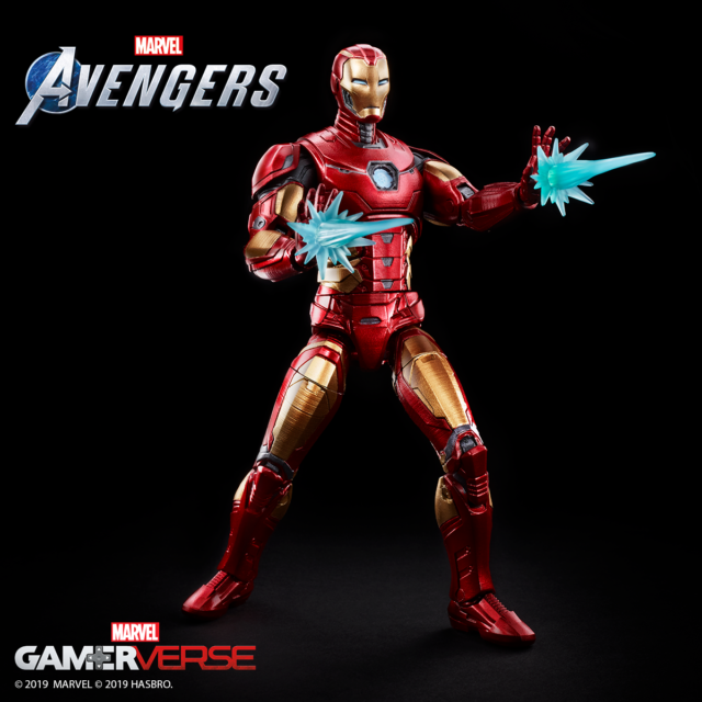Avengers Video Game Marvel Legends Iron Man Figure