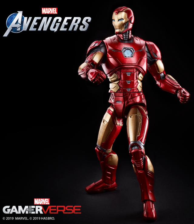 Hasbro Avengers Game Iron Man GamerVerse Marvel Legends Figure