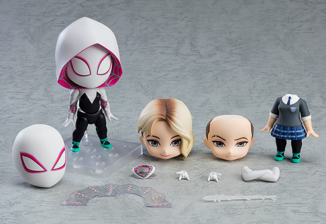 Nendoroid Spider-Gwen DX Figure and Accessories