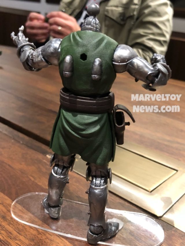Jet Thrusters on Back of 2020 Marvel Legends Doom Figure