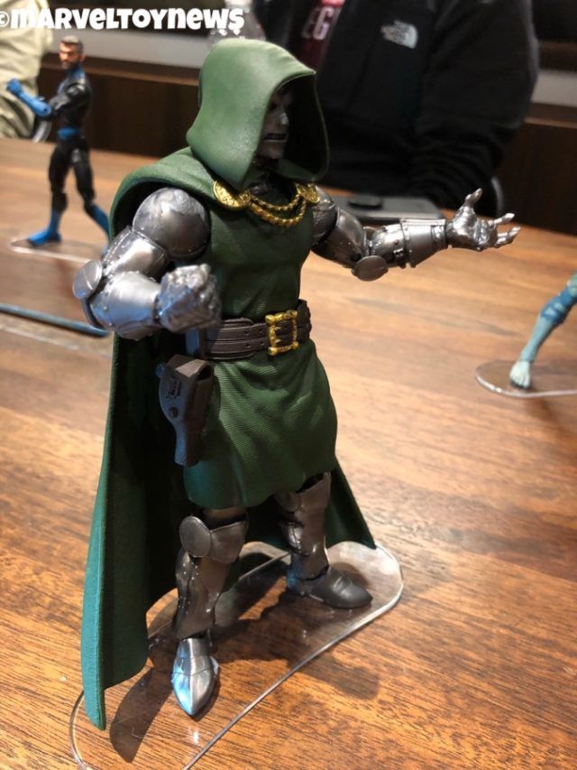 Side View of Fantastic Four Legends Dr. Doom Figure